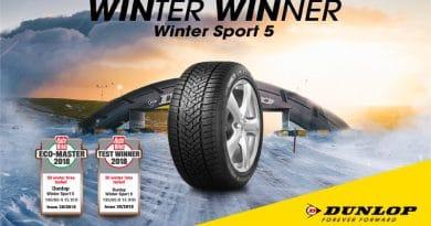 Dunlop Winter Sport 5 vince il Test Pneumatici Invernali AutoBild