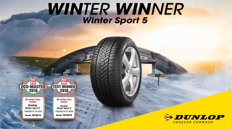 Dunlop Winter Sport 5 vince il Test Pneumatici Invernali AutoBild 3