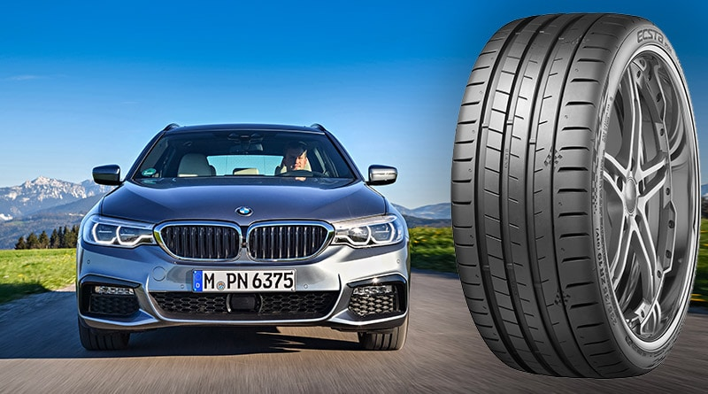 Pneumatici BMW Serie 5: Kumho UHP Ecsta PS91 (245/45 R18 XL 100Y) 2