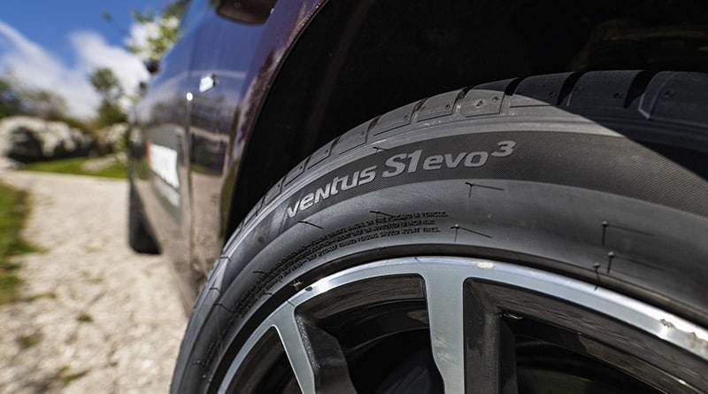 Hankook Ventus S1 evo 3. Nuove gomme Ultra High Performance per auto 10