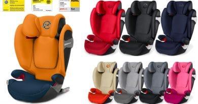 Cybex Solution S-Fix: il  Seggiolino Auto che si adatta al cambiamento del tuo bambino