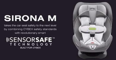 Cybex Sensorsafe: nuovo dispositivo anti-abbandono bambini in auto 3