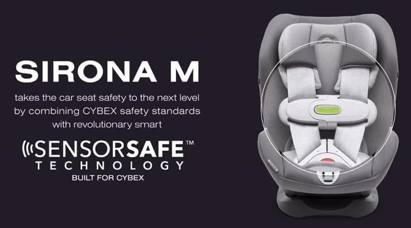 Cybex Sensorsafe: nuovo dispositivo anti-abbandono bambini in auto 1