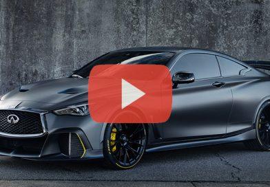 Infiniti Project Black S: La Formula 1 Stradale Ibrida