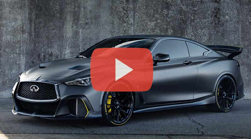 Infiniti Project Black S: La Formula 1 Stradale Ibrida 7