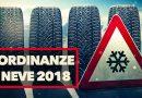 Ordinanze Pneumatici Invernali 2018: Quando Cambiare le Gomme