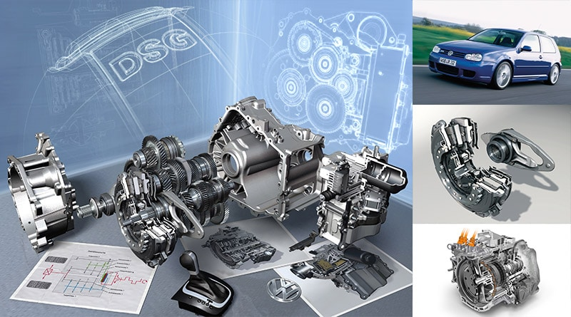 Cambio DSG: 15 anni di cambi a doppia frizione Volkswagen 3