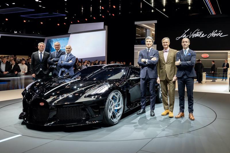 """Bugatti """"La Voiture Noire"""": la Supercar da 16.7 Milioni di Euro 1"""