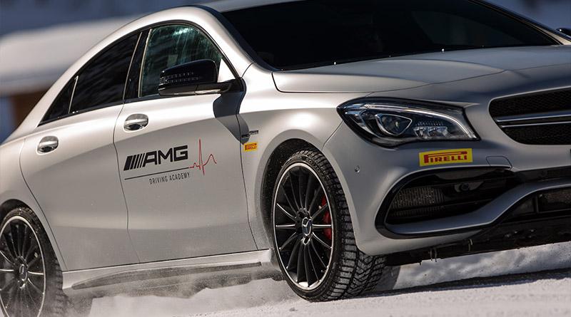 AMG Driving Accademy Italia: arriva la collaborazione con Pirelli 1
