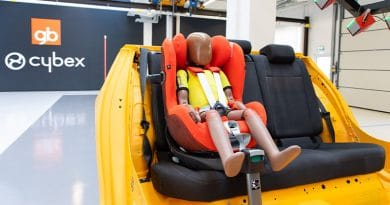 Cybex inaugura il proprio nuovo Centro Crash Test per Seggiolini Auto 1