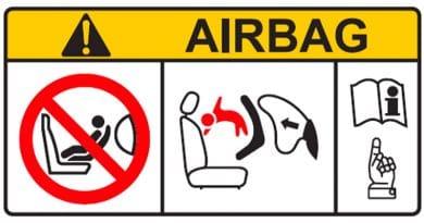 Seggiolini Auto Airbag