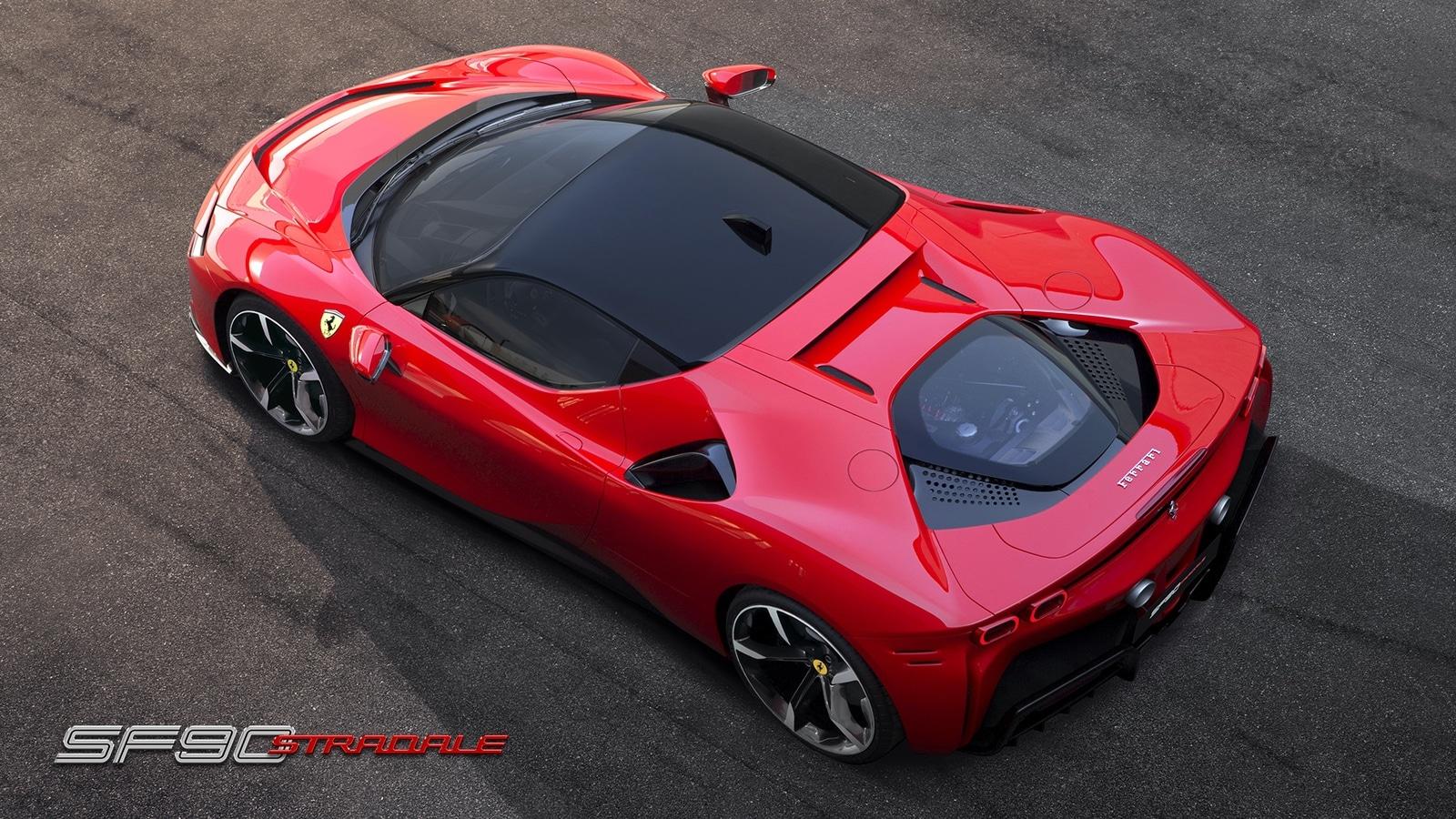 Ferrari SF90 Stradale – 1000 CV Hybrid (0-100 in 2.5 sec) 2