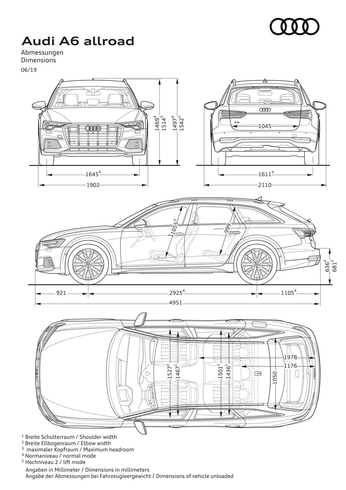 Nuova Audi A6 allroad quattro: prestazioni e look all terrain 3