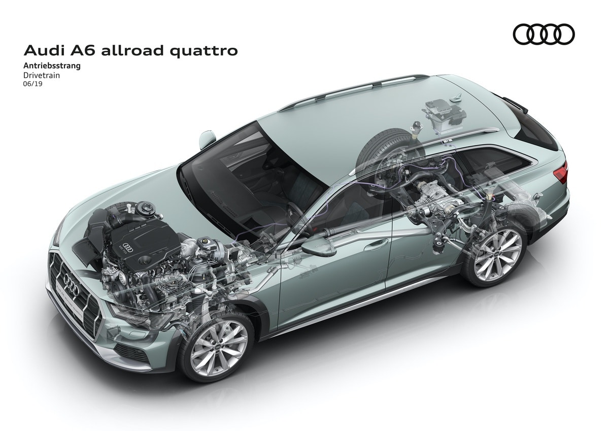 Nuova Audi A6 allroad quattro: prestazioni e look all terrain 2
