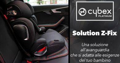 Cybex Solution Z-Fix – RECENSIONE COMPLETA Seggiolino Auto