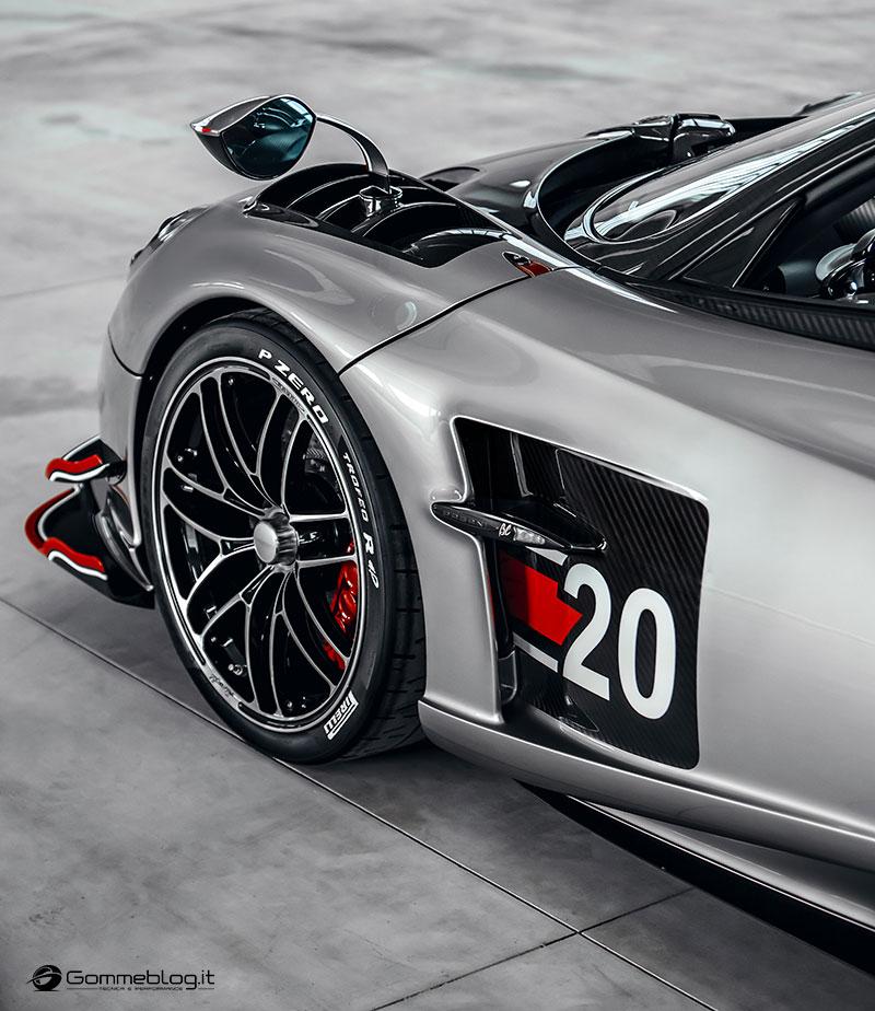 Pirelli P Zero Trofeo R: la gomma pensata per la Pagani Huayra Roadster BC 3