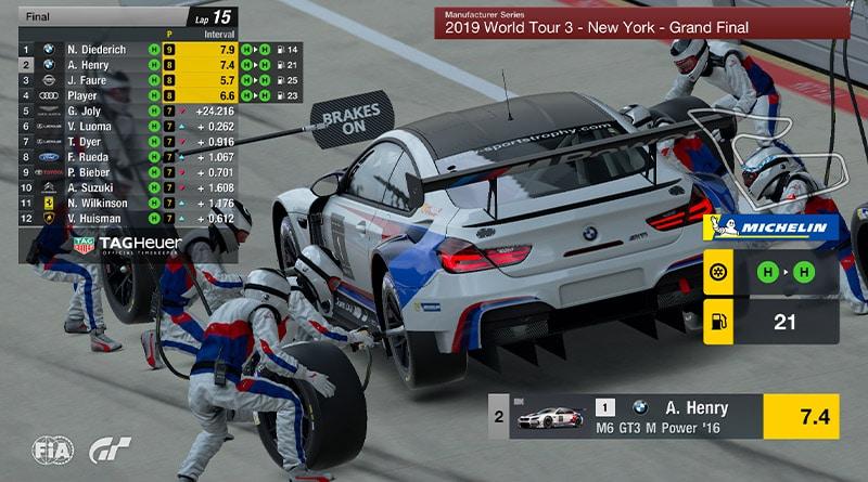 Michelin e Playstation Gran Turismo: i Pneumatici ora sono Realistici 1
