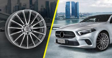 Cerchi in Lega Mercedes: Novità MAK 2019 – 2020