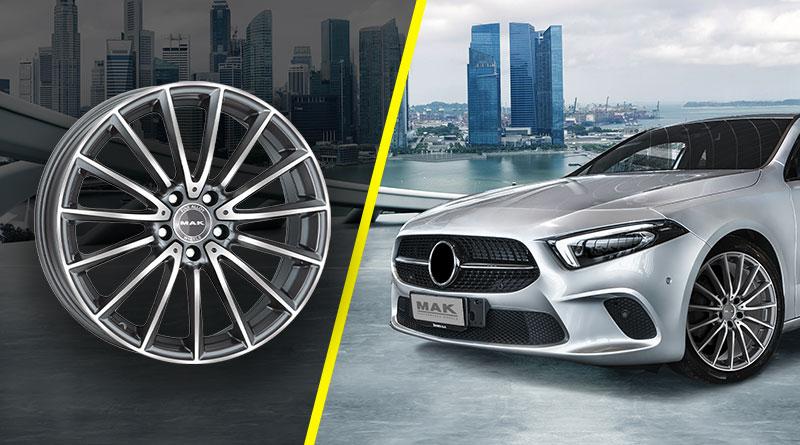 Cerchi in Lega Mercedes: Novità MAK 2019 - 2020 1