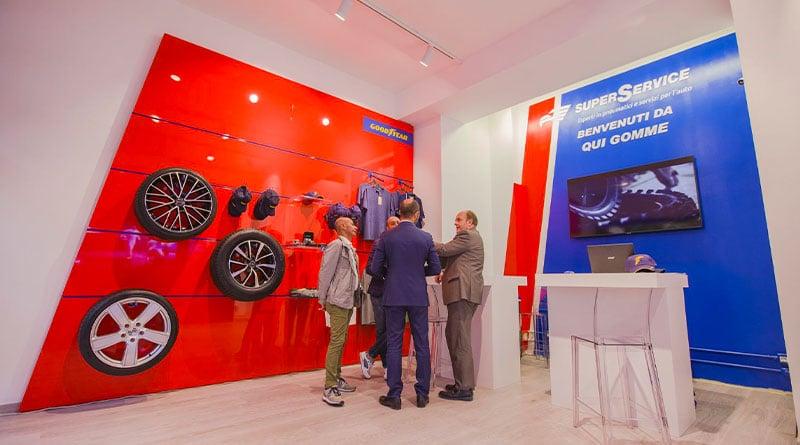 Goodyear e SuperService: a Milano il 1° Concept Store dei Pneumatici 1