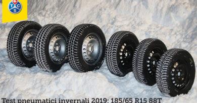 Test TCS Pneumatici Invernali 2019: ATTENZIONE AL BAGNATO 11