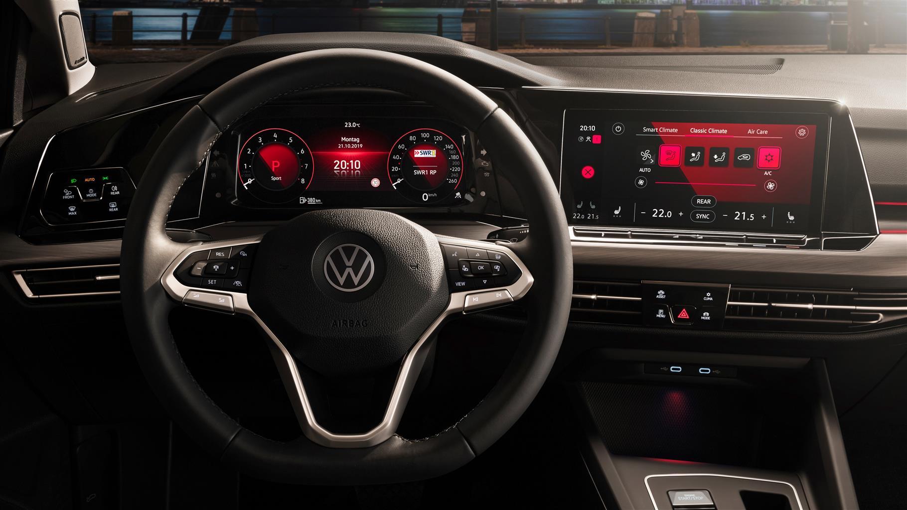 Volkswagen Golf 8 - Più innovativa che mai 3