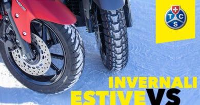 Gomme Invernali vs Gomme Estive per Scooter: Risultati Test TCS 2
