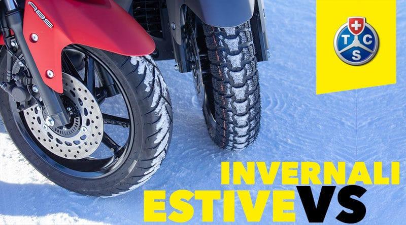 Gomme Invernali vs Gomme Estive per Scooter: Risultati Test TCS 1