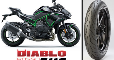 Gomme Moto: Pirelli DIABLO ROSSO 3 per Kawasaki Z H2