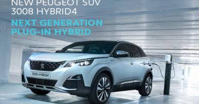 Peugeot 3008 HYBRID4 e Peugeot508 HYBRID: Nuove Ibride Plugin