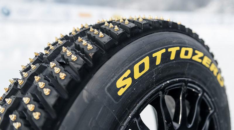 """Pneumatici Rally WRC 2021: Pirelli Sottozero Ice J1 """"Svezia"""" chiodato, nella misura 205/65 R15 1"""