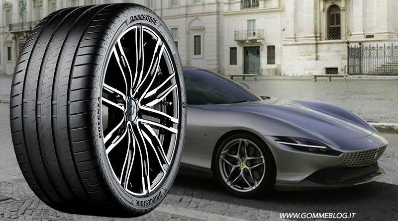Bridgestone e Ferrari: pneumatici su misura per la Roma