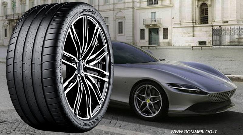 Bridgestone e Ferrari: pneumatici su misura per la Roma 1