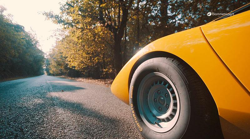 Pirelli: rinasce dopo 50 anni il Cinturato CN12 della Countach 1
