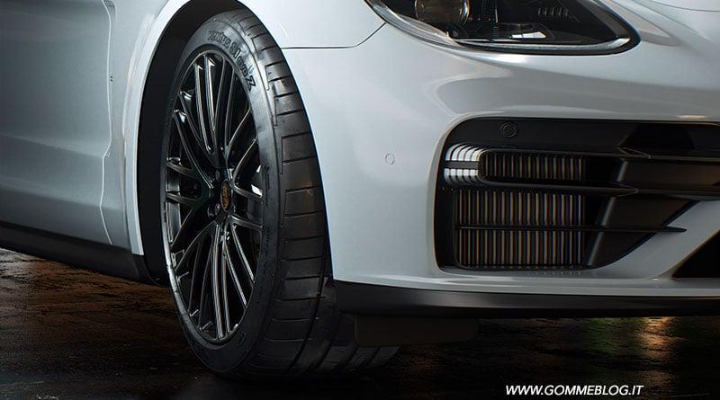 Hankook: Pneumatici di 1° equipaggiamento per Porsche Panamera 1